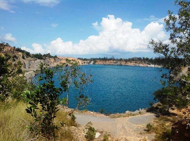 Bukit Panglong Bekas Area Tambang yang Jadi Tempat Rekreasi