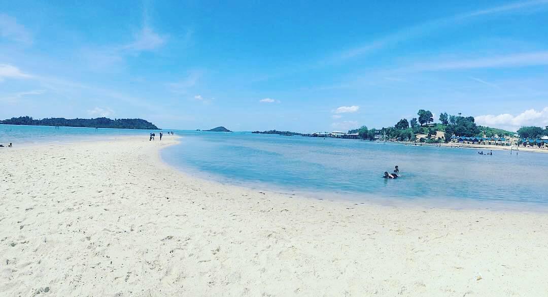 Pantai Setokok Batam Terkenal Akan Keindahan Pasir Putihnya